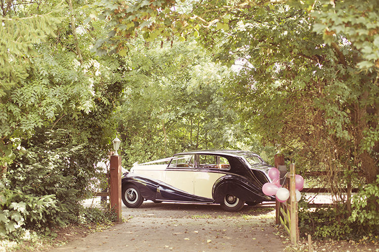 Car Transport Elegant Romantic Classic Pink Wedding http://www.rebeccaweddingphotography.co.uk/