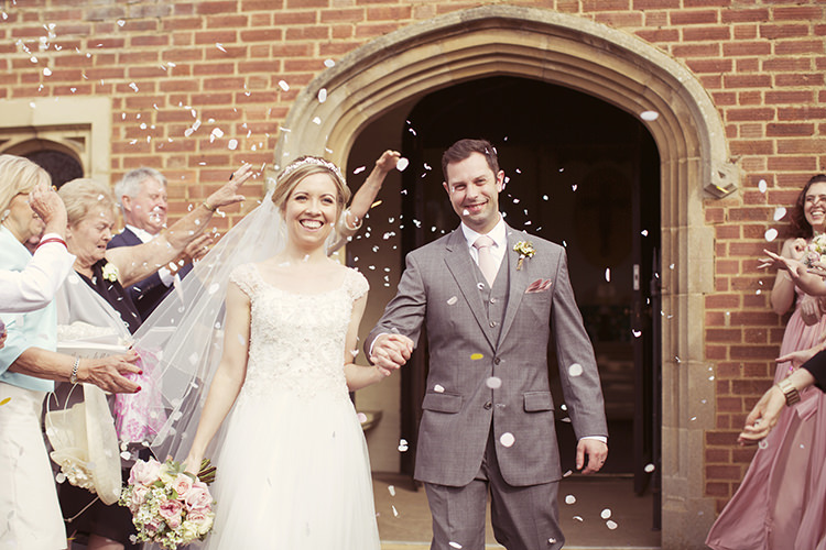 Confetti Throw Elegant Romantic Classic Pink Wedding http://www.rebeccaweddingphotography.co.uk/