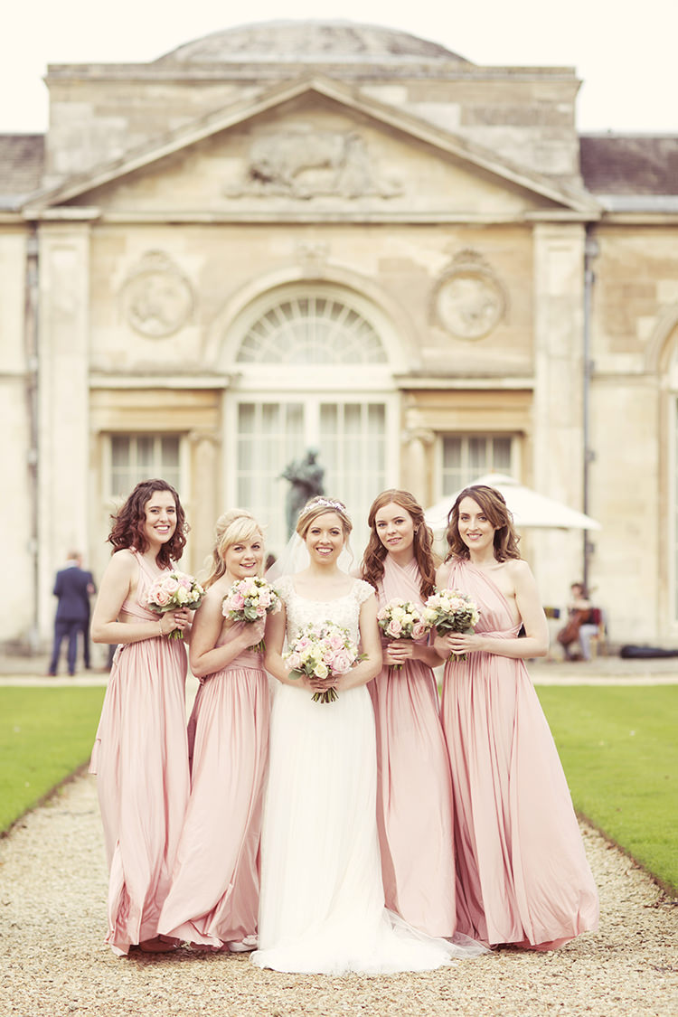 Long Multiway Bridesmaid Dresses Elegant Romantic Classic Pink Wedding http://www.rebeccaweddingphotography.co.uk/