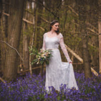 Magical Spring Bluebell Woodland Wedding Ideas http://helinebekker.co.uk/