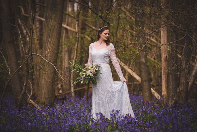 Magical Spring Bluebell Woodland Wedding Ideas