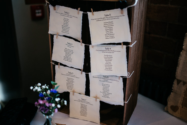Crate Pegs Seating Plan Table Chart Rustic Woodland Modern Wedding http://www.jennymacare.com/