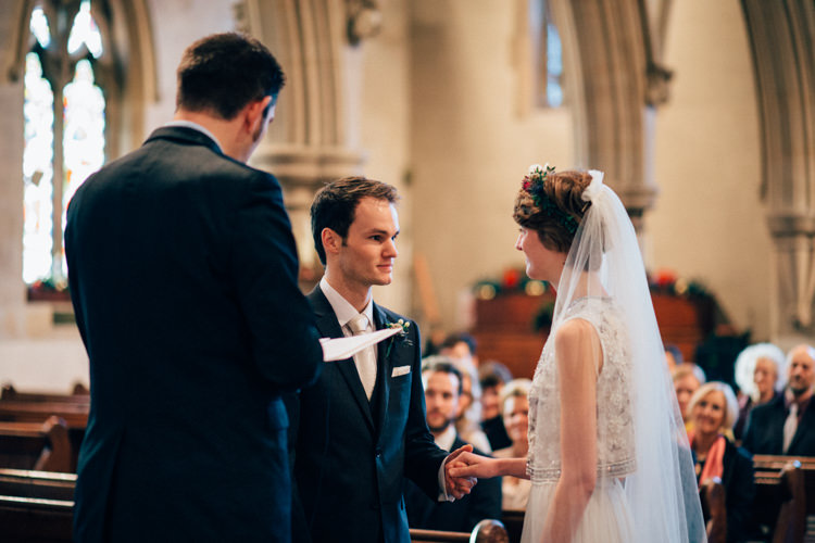 St Mary Oatlands Needle & Thread Heartwarming Festive Winter Wedding http://www.nikkivandermolen.com/