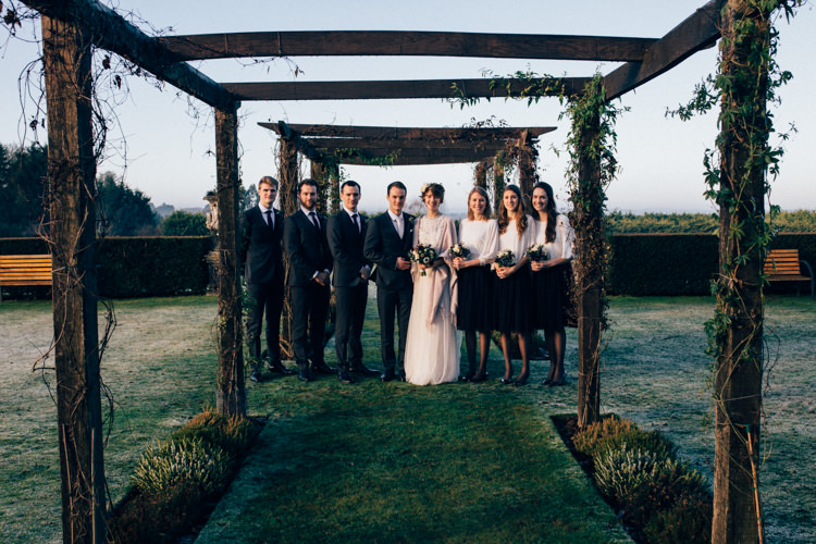 Needle & Thread Zara DKNY Cain Manor Heartwarming Festive Winter Wedding http://www.nikkivandermolen.com/