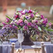 Violet Spring Luxe Wedding Ideas