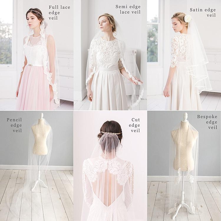 Wedding Veil Edgings Guide Bridal Accessory Inspiration Ideas Britten
