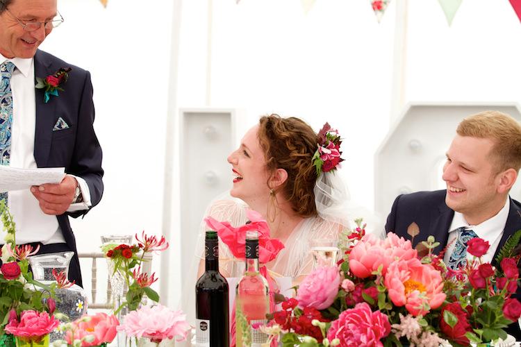 Floral Artistic Farm Wedding http://elizabetharmitage.com/