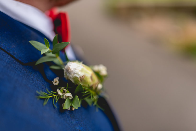 Buttonhole Groom Style Fun Quirky 1950s Wedding http://www.lisacarpenterphotos.com/