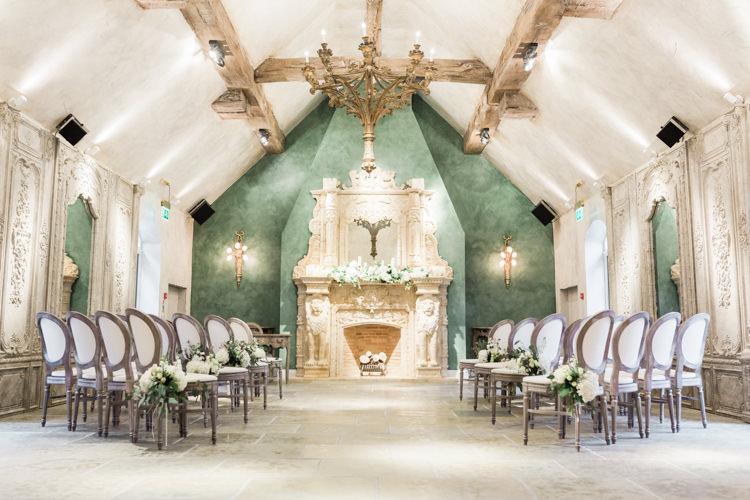 Le Petit Chateau Northumberland Venue Ceremony Whimsical Elegant Classic Wedding http://katymelling.com/