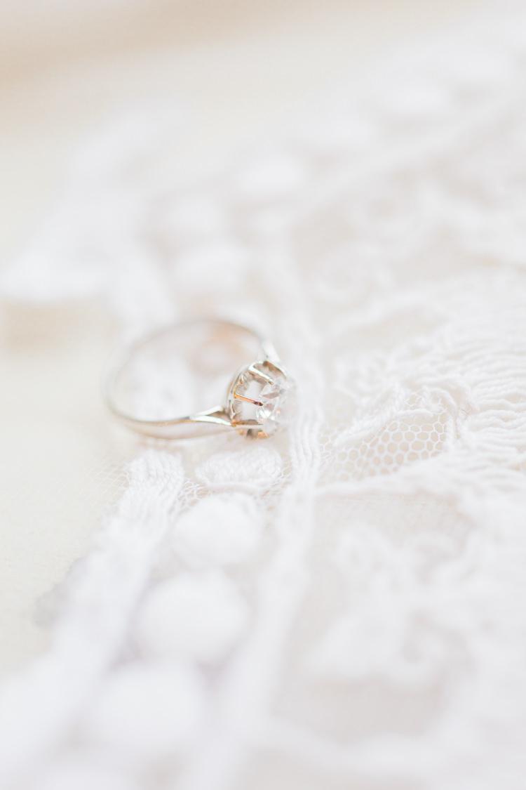 Princess Cut Diamond Engement Ring White Gold Platinum Whimsical Elegant Classic Wedding http://katymelling.com/