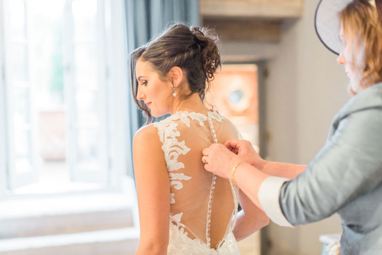 Illusion Back Dress Gown Bride Bridal Whimsical Elegant Classic Wedding http://katymelling.com/