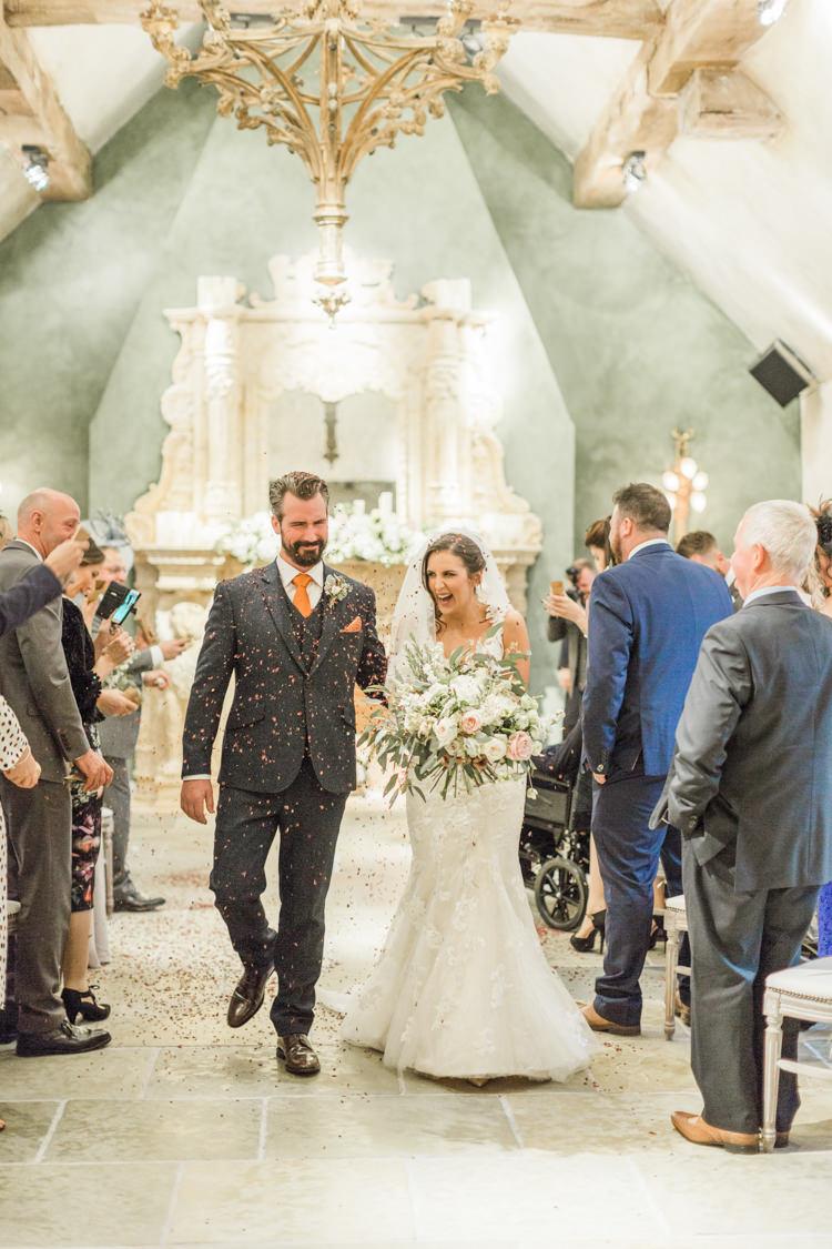 Confetti Throw Petals Aisle Whimsical Elegant Classic Wedding http://katymelling.com/