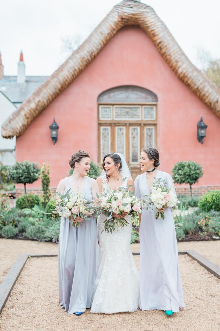 Long Lilac Purple Bridesmaid Dresses Maxi Whimsical Elegant Classic Wedding http://katymelling.com/