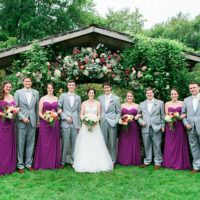 Flower Farm Outdoor Wedding Minnesota http://eileenkphoto.com/