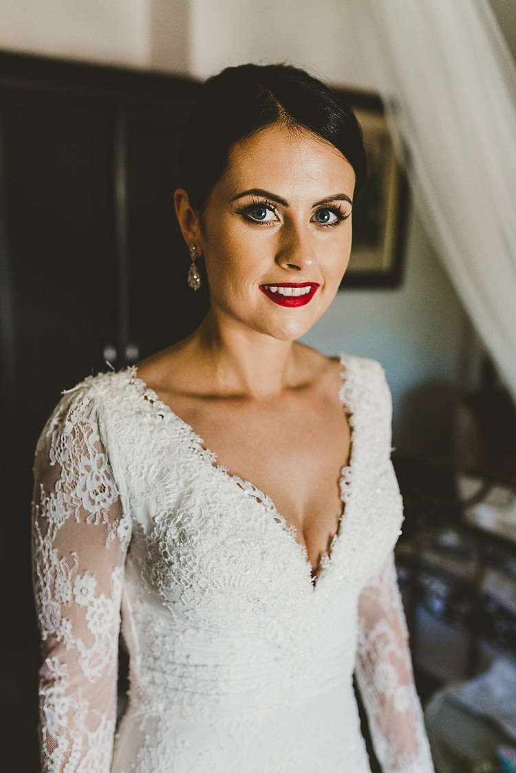 Bride Hair Make Up Style Look Bridal Glamorous Gatsby City Hall Wedding http://www.emmakenny.com/