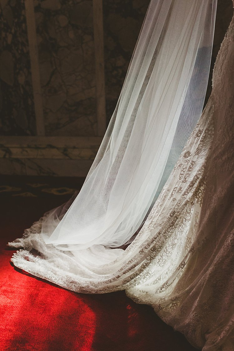 Veil Long Cathedral Bride Bridal Accessory Glamorous Gatsby City Hall Wedding http://www.emmakenny.com/