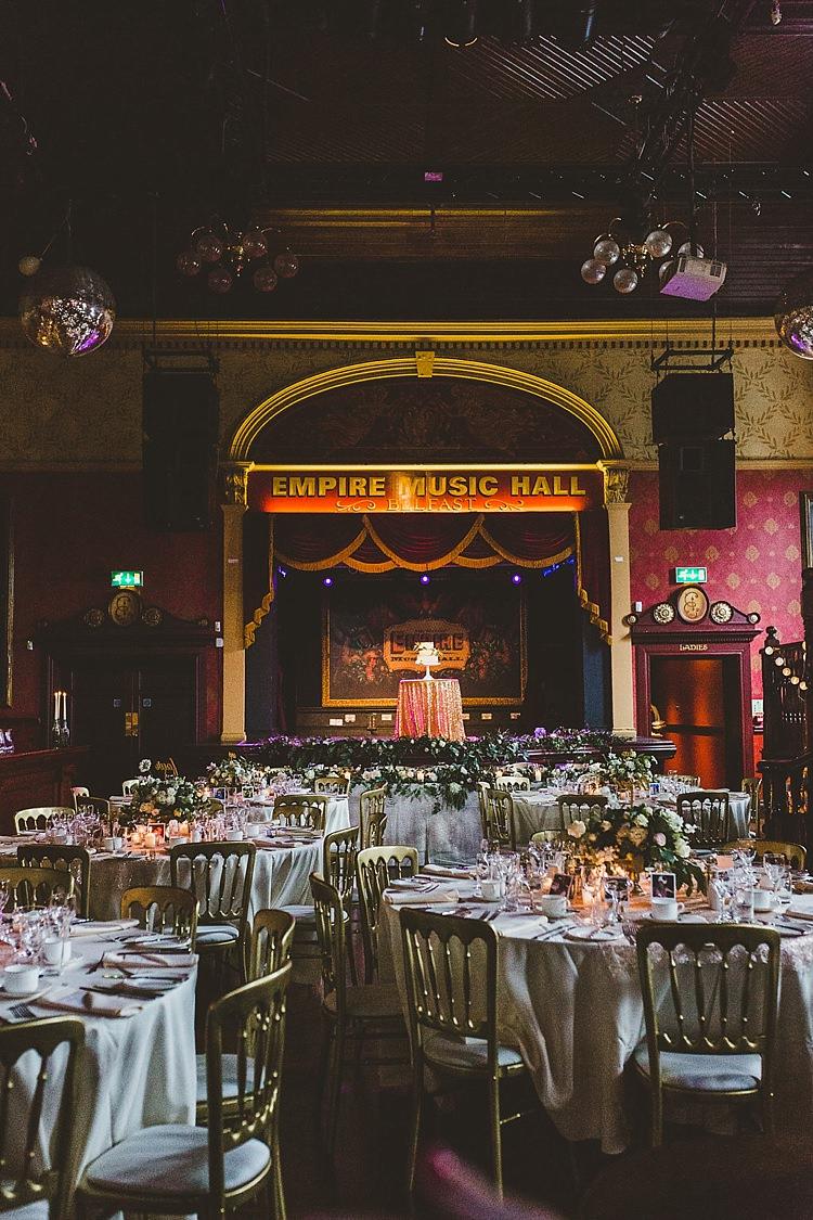 Empire Music Hall Belfast Glamorous Gatsby City Hall Wedding http://www.emmakenny.com/