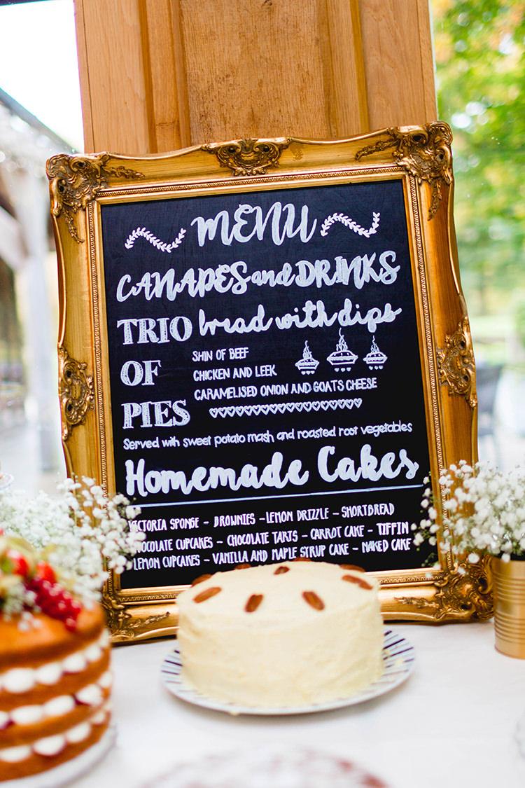 Chalk Black Board Sign Cake Table Stylish Soft Blush Wedding http://www.jemmakingphotography.co.uk/