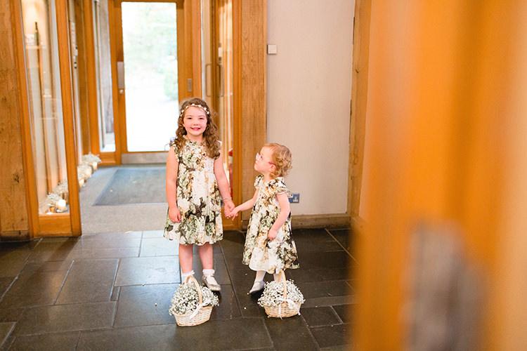 Floral Flower Girl Dresses Stylish Soft Blush Wedding http://www.jemmakingphotography.co.uk/