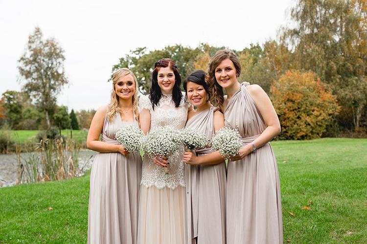Long Multiway Bridesmaid Dresses Stylish Soft Blush Wedding http://www.jemmakingphotography.co.uk/