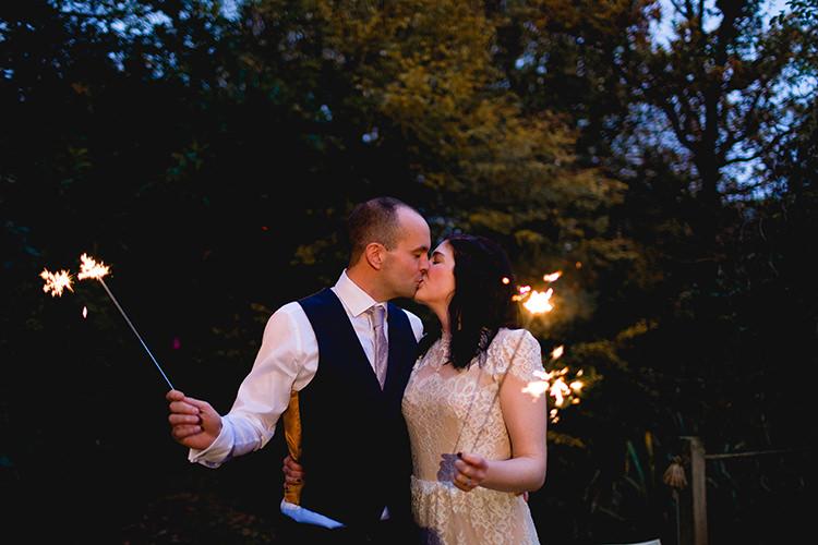 Sparklers Stylish Soft Blush Wedding http://www.jemmakingphotography.co.uk/