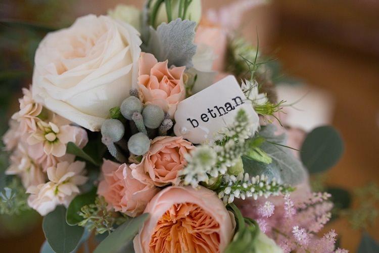 Bridesmaids Flowers Bouquet Light Pretty Summer Barn Wedding http://www.koweddings.com/