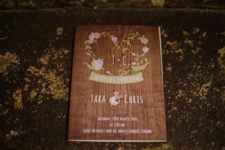 Wooden Rustic Floral Stationery Invitation Summer Country Pastels Wedding http://jesspetrie.com/