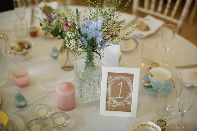 Afternoon Tea Flowers Decor Summer Country Pastels Wedding http://jesspetrie.com/