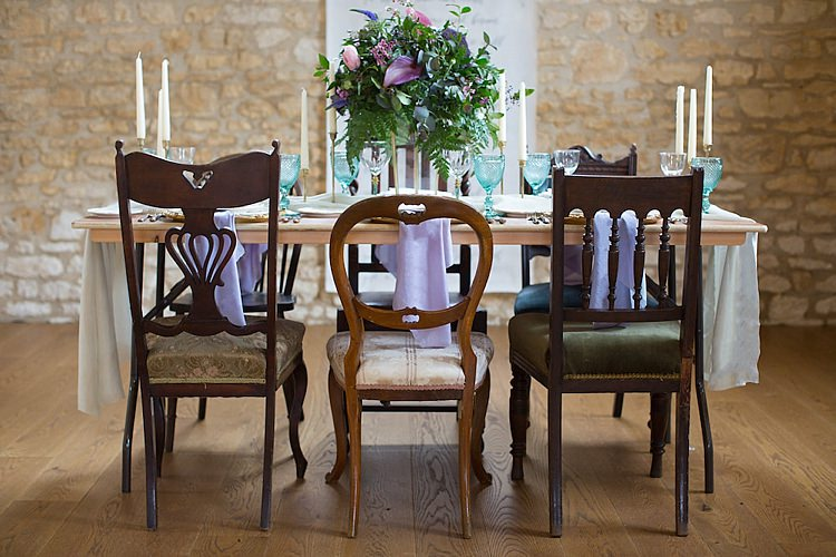 Rustic Mismatched Chairs Furniture Chic Secret Garden Wedding Ideas http://marysmithphotography.com/