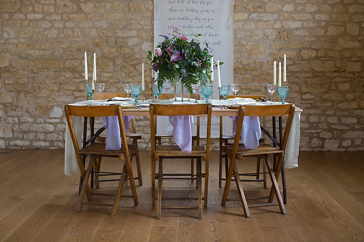 Tablescape Decor Chairs Flowers Candles Chic Secret Garden Wedding Ideas http://marysmithphotography.com/