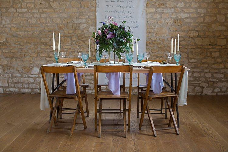 Tablescape Decor Chairs Flowers Candles Chic Secret Garden Wedding Ideas http://marysmithphotography.com/