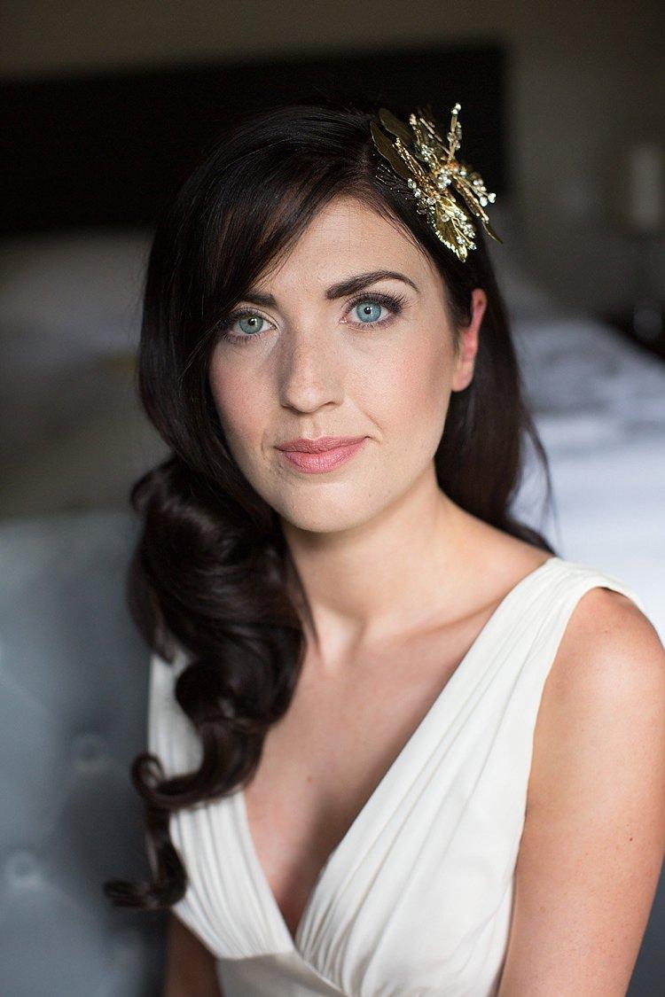 Bride Bridal Make Up Pretty Natural Chic Secret Garden Wedding Ideas http://marysmithphotography.com/