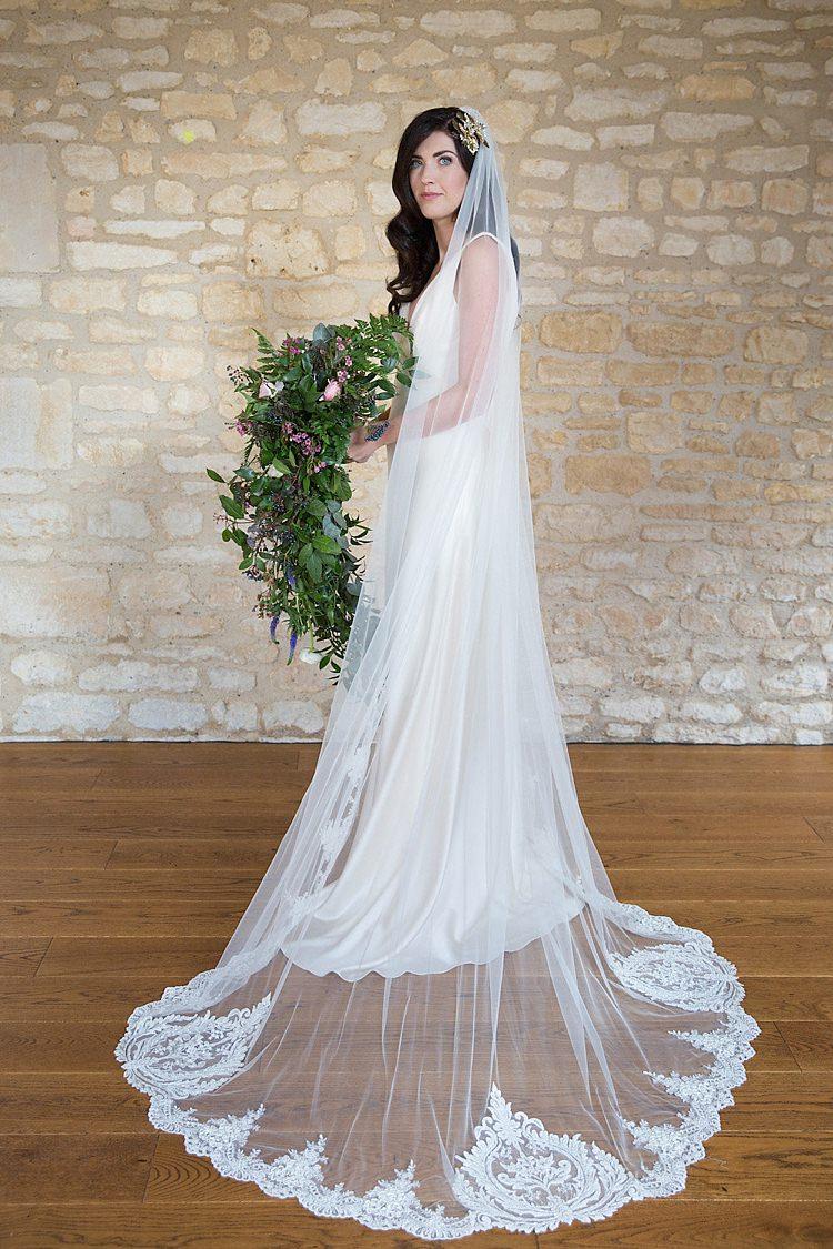 Lace Veil Bride Bridal Accessory Chic Secret Garden Wedding Ideas http://marysmithphotography.com/