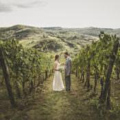 Romantic & Intimate Tuscany Destination Wedding