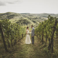Romantic Intimate Tuscany Destination Wedding http://angelicabraccini.com/