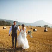 Powder Blue Country Rustic Charm Wedding
