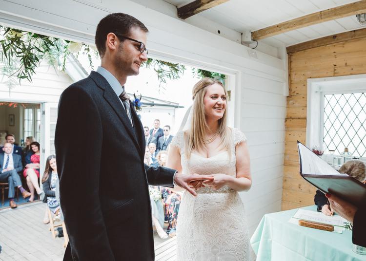 Low Key Pastel Seaside Wedding http://holliecarlinphotography.com/