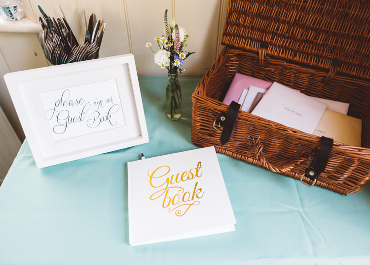 Guest Book Low Key Pastel Seaside Wedding http://holliecarlinphotography.com/
