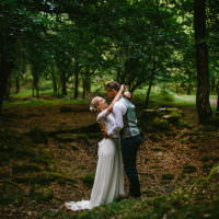 Whimsical Greenery Nature Wedding http://lunaweddings.co.uk/