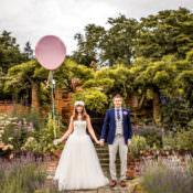 Quirky English Garden Party Wedding