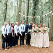 Beautiful Woodland Glade Wedding