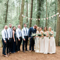 Beautiful Woodland Glade Wedding https://emilyhannah.com/