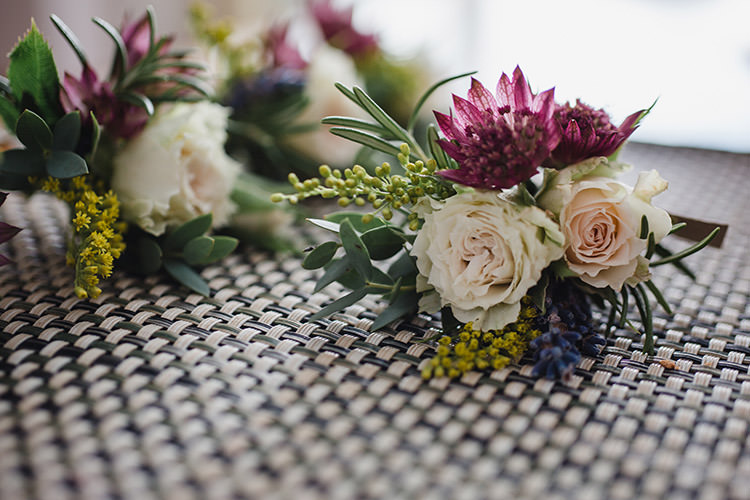 Flowers Bouquet Roses Enchanted Fairy Garden Wedding http://lunaweddings.co.uk/