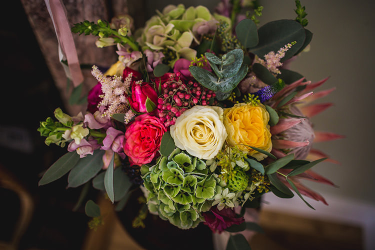 Bouquet Flowers Pastel Bride Bridesmaids Enchanted Fairy Garden Wedding http://lunaweddings.co.uk/