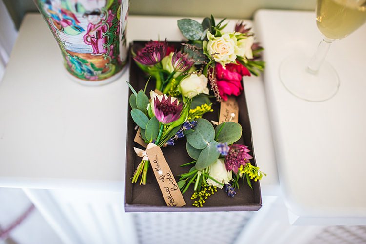 Buttonholes Groom Groomsmen Enchanted Fairy Garden Wedding http://lunaweddings.co.uk/