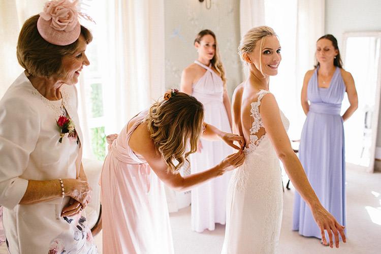 Presea Pronovias Dress Gown Lace Bride Bridal Enchanted Fairy Garden Wedding http://lunaweddings.co.uk/