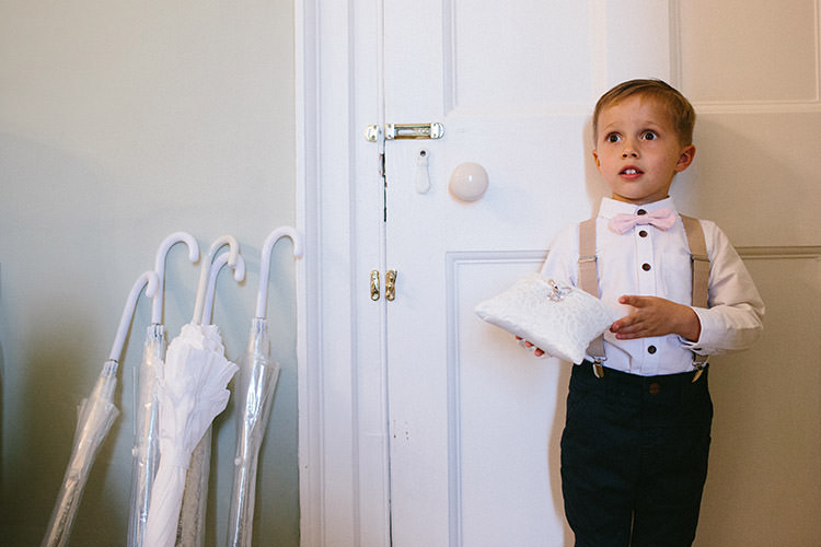 Page Boy Bow Tie Braces Enchanted Fairy Garden Wedding http://lunaweddings.co.uk/
