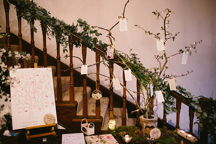 Tree Seating Plan Table Chart Candles Enchanted Fairy Garden Wedding http://lunaweddings.co.uk/