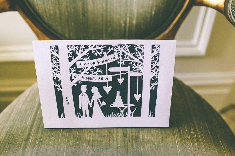 Paper Cut Out Stationery Invitations Rustic Woodland Birds Outdoorsy Wedding http://www.emmaboileau.co.uk/