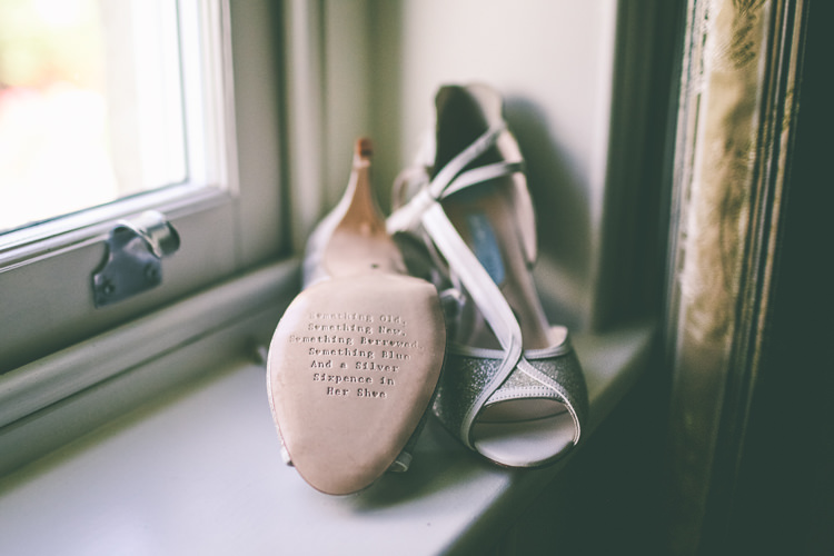 Charlotte Mills Shoes Bride Bridal Rustic Woodland Birds Outdoorsy Wedding http://www.emmaboileau.co.uk/
